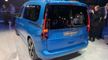 VW Caddy - rear reveal