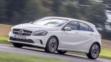 Mercedes A-Class - front action