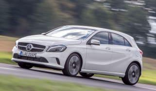 Mercedes A-Class - front action
