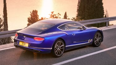Bentley Continental GT - rear tracking