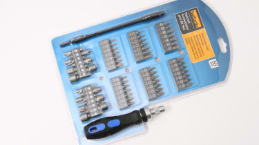 Halfords Ratchet Screwdriver and Bit Set multibit