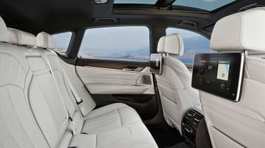 BMW 6 Series Gran Turismo - rear seats