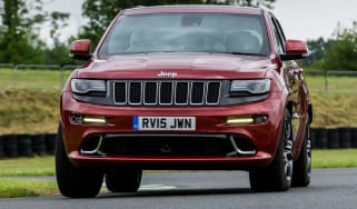 Jeep Grand Cherokee SRT - front cornering
