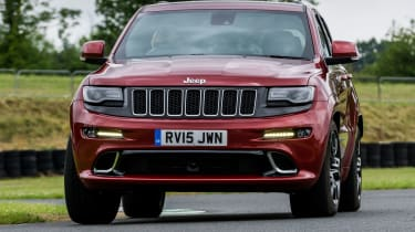 Jeep Grand Cherokee SRT - front cornering