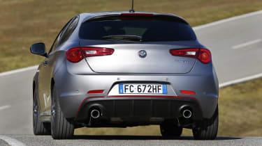 Alfa Romeo Giulietta - facelift rear