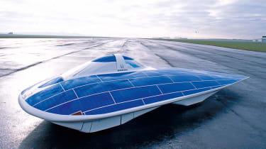 Honda Dream solar car