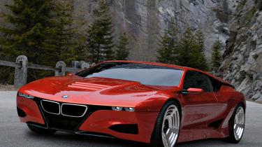 BMW M1 Hommage front