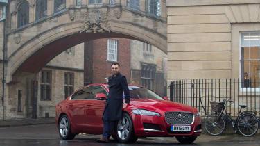 Jaguar XF long term - second report header