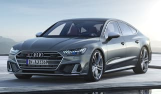 Audi S7 mild-hybrid - front static