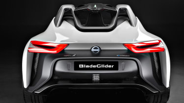 Nissan BladeGlider - full rear