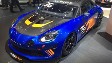 Alpine A110 GT4 front