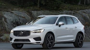 Volvo XC60 2017 - white front quarter