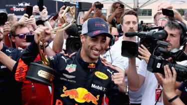 Daniel Ricciardo - trophy