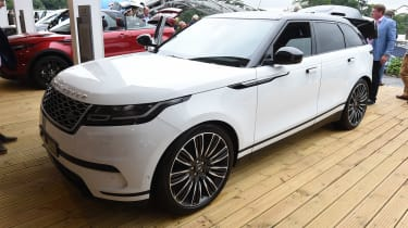 The Range Rover Velar will sit between the existing Range Rover Evoque and Range Rover Sport.