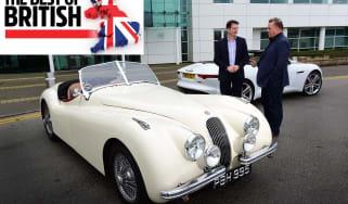 Jaguar Land Rover visit - header