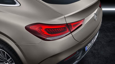 Mercedes GLE Coupe - rear lights