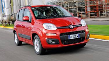 Fiat Panda TwinAir front tracking