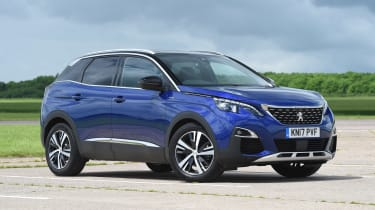 Peugeot 3008 - front static