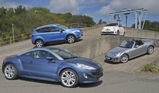Peugeot RCZ vs. stylish rivals