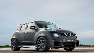 Nissan Juke-R front 3/4