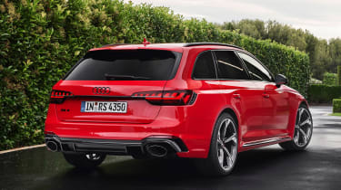 Audi RS 4 Avant - rear static