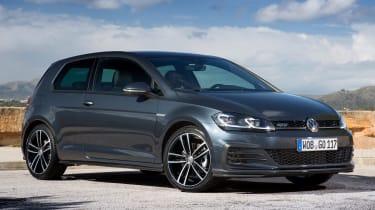 Volkswagen Golf GTD 2017 facelift - front quarter
