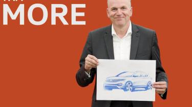 Volkswagen T-Cross teaser - front