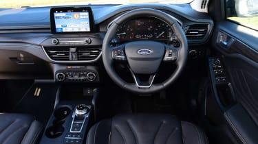 Ford Focus Vignale Estate - dash
