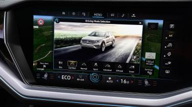 Volkswagen Touareg - drive select