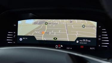 Skoda Octavia 1.5 TSI - long termer digital dash