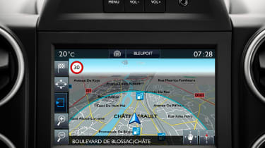 Citroen E-Berlingo Multispace - sat-nav