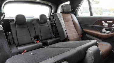 Mercedes GLE - back seats