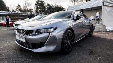 Peugeot 508 HYbrid prototype - front static