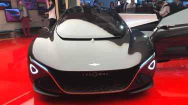 Aston Martin Lagonda Vision concept - show full front