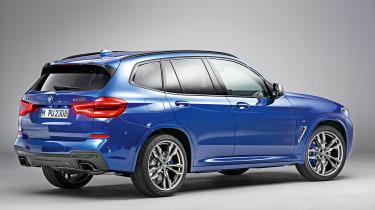 New BMW X3 - rear static