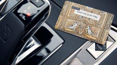 DS 7 Louvre - gear lever