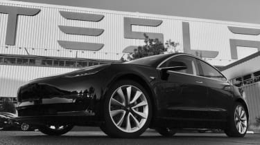 Tesla Model 3 production model