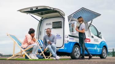 Nissan ice cream van - rear