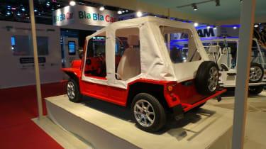 'Nosmoke' convertible rear