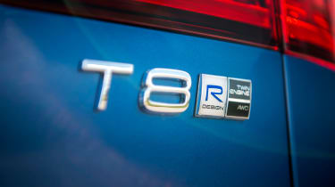 Volvo V60 T8 Twin Engine - T8 badge