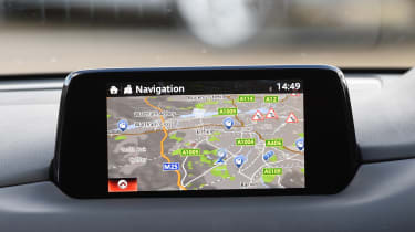 Mazda CX-5 - second report sat-nav