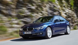 BMW 3 Series 2015 facelift - tracking