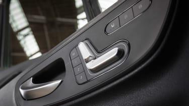 Mercedes Sprinter - seat controls