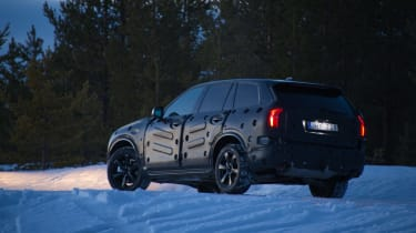 Volvo XC90 first ride rear static