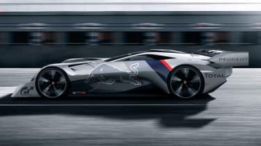 Peugeot L750 R Hybrid Vision Gran Turismo - side profile