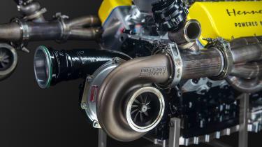 Venom F5 engine - Turbo