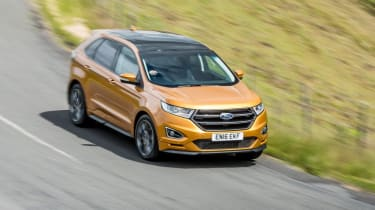 Ford Edge - front/above