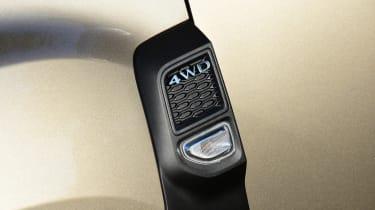 Dacia Duster 4WD badge