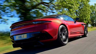 Aston Martin DBS Superleggera - rear tracking