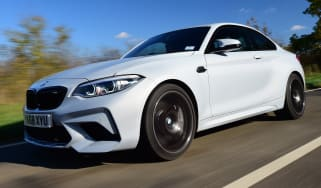 bmw m2 competition tracking front